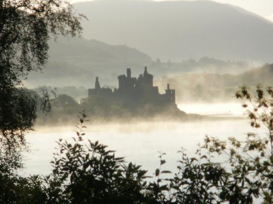Loch Awe Hotel: castle from hotel