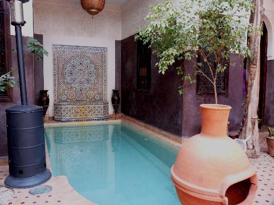 Riad La Porte Rouge: pour se rafraîchir ... l'été quand il fait chaud