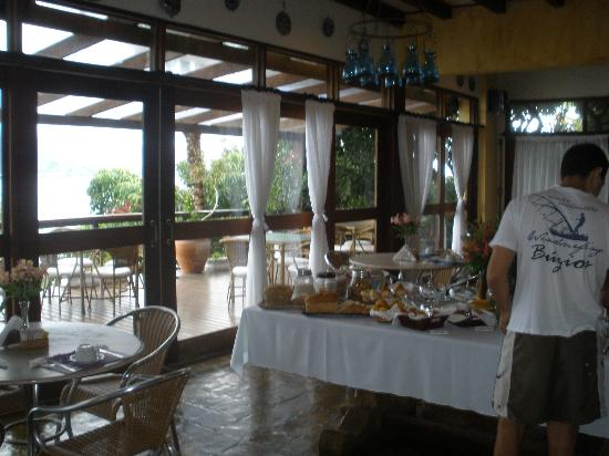 Barra do Piuva Porto Hotel: the breakfast