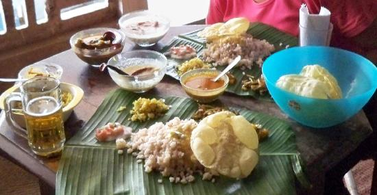 Ashtamudi Homestay: Kerala Meal