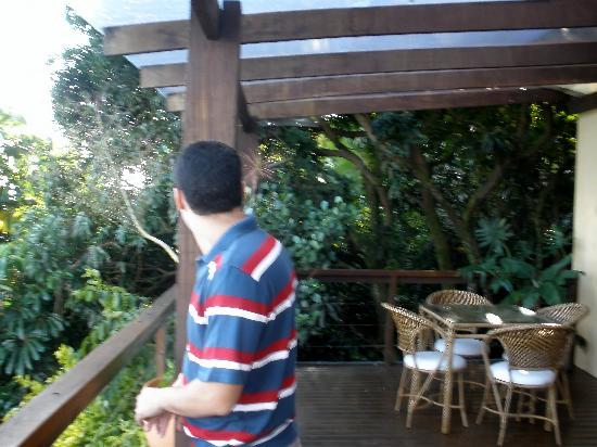 Barra do Piuva Porto Hotel: restaurant´s terrace