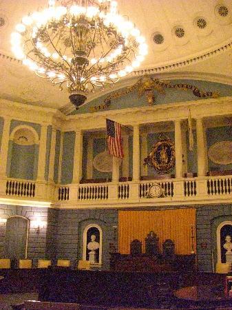 Massachusetts State House: Senate Chamber