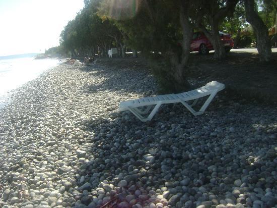 The Ocean Blue: La plage