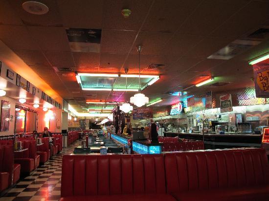 Gunther Toodys Diner: 店内