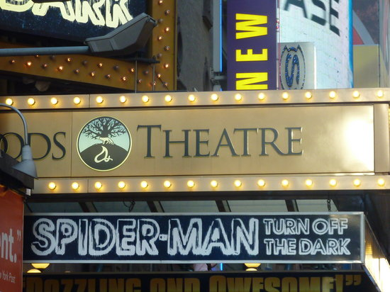 Spider-Man: Turn Off the Dark: foxwood theatre