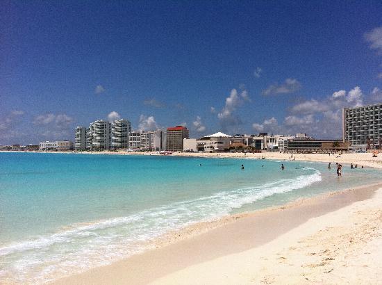 โรงแรมไฮแอทรีเจนซี่แคนคัน: la spiaggia dell hyatt