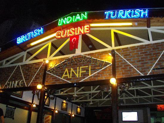 Anfi Bar Restaurant: Top Bar