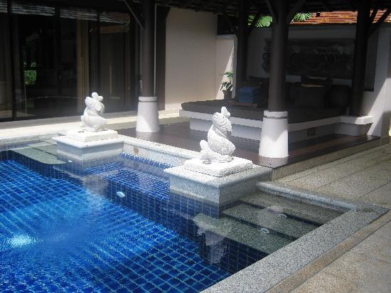 พิมาลัย รีสอร์ท แอนด์ สปา: piscina privata della pool villa