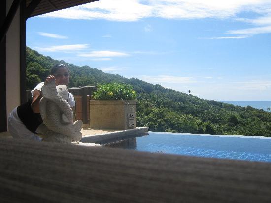 พิมาลัย รีสอร์ท แอนด์ สปา: panorama dalla camera