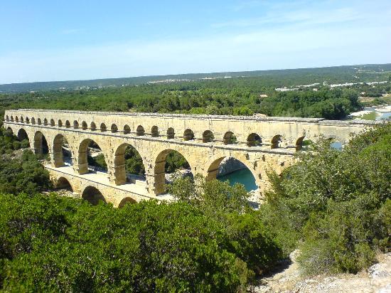Residence Les Portes des Cevennes : le pont du gard