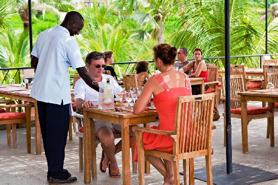 Les Alizes Beach Resort: Le restaurant L'Escale Gourmande