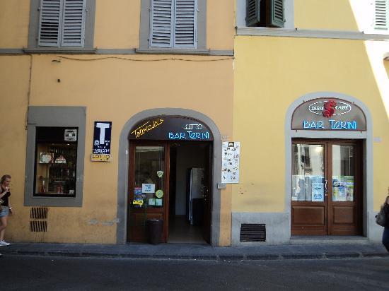 Caffe de' Pinti: La façade du Bar Torini