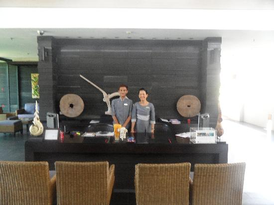 Ramada Khao Lak Resort : Reception staff 1st class