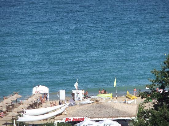 Grifid Hotel Arabella: vue depuis la chambre