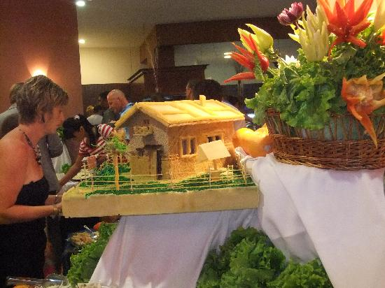 Grifid Hotel Arabella: dîner de gala