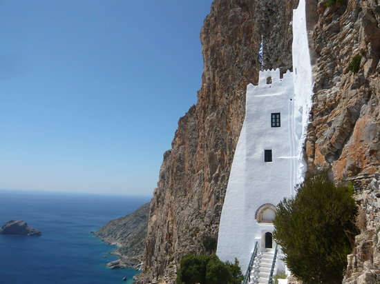 Art Studio Apartments: Monastery in Amorgos