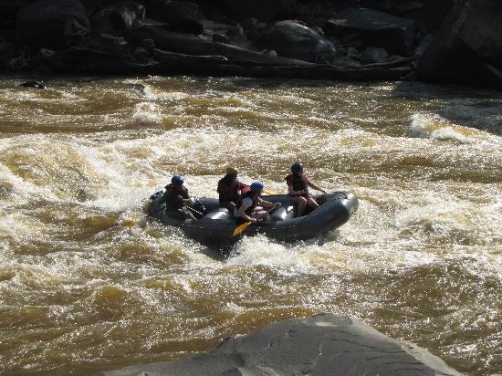 The Jesselton Hotel: white water rafting