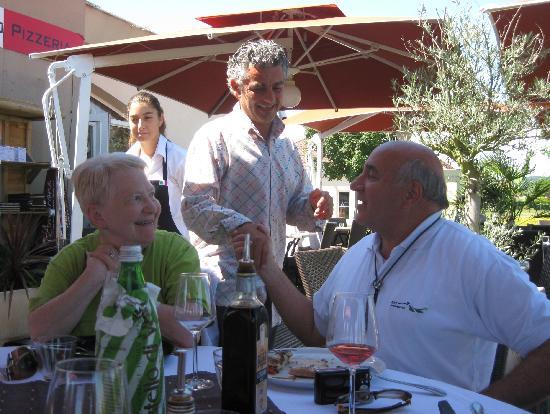 L'Amarone: Ricardo, un patron  très affable