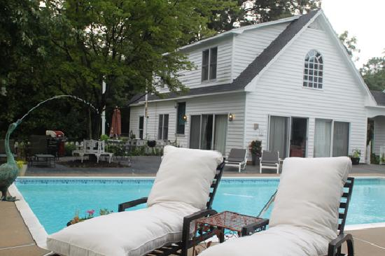 Miles River Guest House pool is open April - Oct.