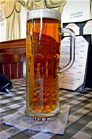 Delmonico's Italian Steakhouse : An Ice cold Mug of Beer