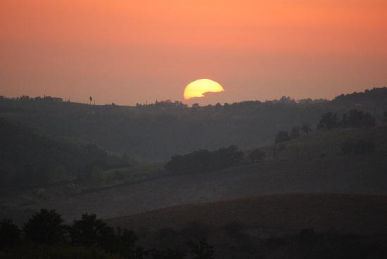 Sant'Anna Vacanze: Täglicher Sonnenuntergang