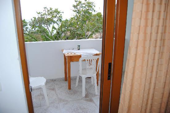 Lefkos, Grecia: balcone vista
