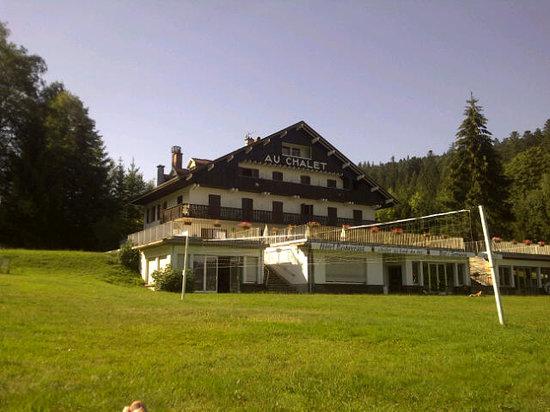 Gerardmer, França: L'hotel depuis la plage
