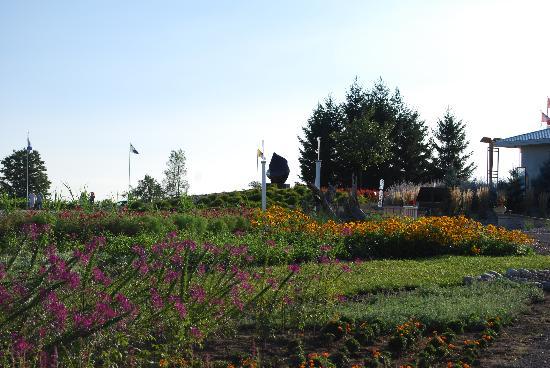 Huff Estates: Il giardino d'arte