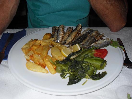 Myrtios Restaurant: sardines