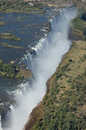 Kasane, بوتسوانا: Victoria Falls Helicopter Flight
