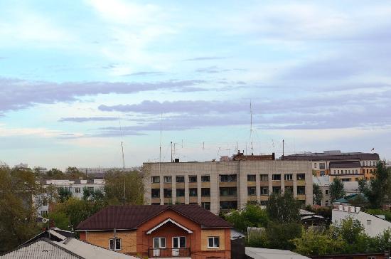 Irkutsk Hostel: View from  the window