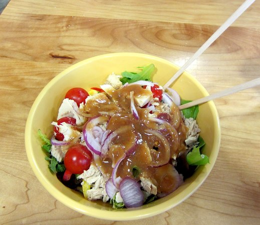 Community Food Co-op West Main : My albacore salad Yummy