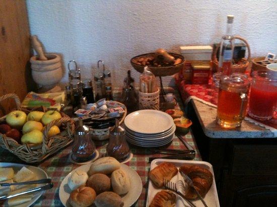 Agriturismo Masi Brenta: il buffet della colazione