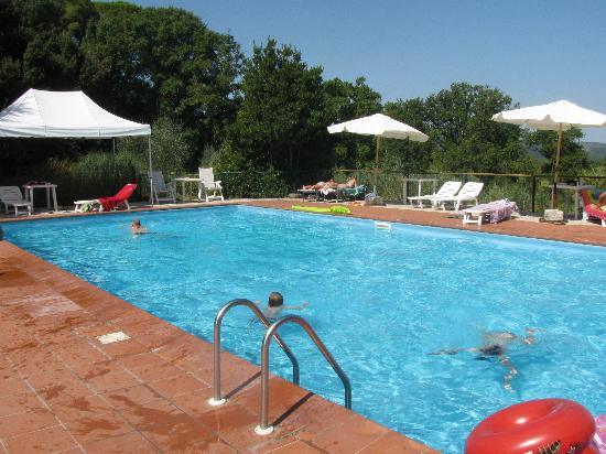 Rustica Progenie Apartments: The pool