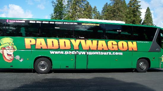 Paddy's Palace: Paddywagon