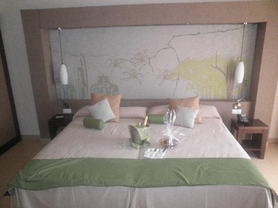 Sandos San Blas Nature Resort & Golf : Detalle de bienvenida
