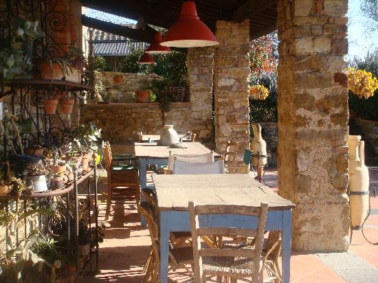 Castello Della Paneretta Veranda Nelle Sere D 39 Estate Si Mangia Qui