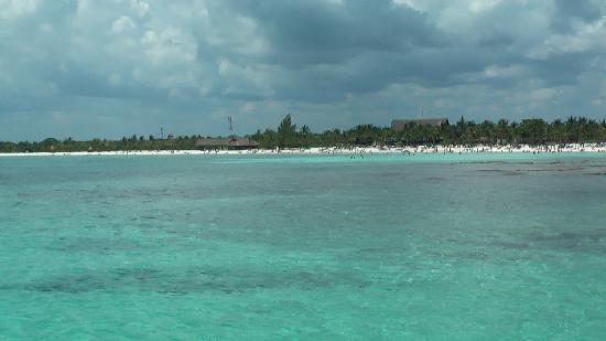 Barcelo Maya Tropical: foto spiaggia del tropical