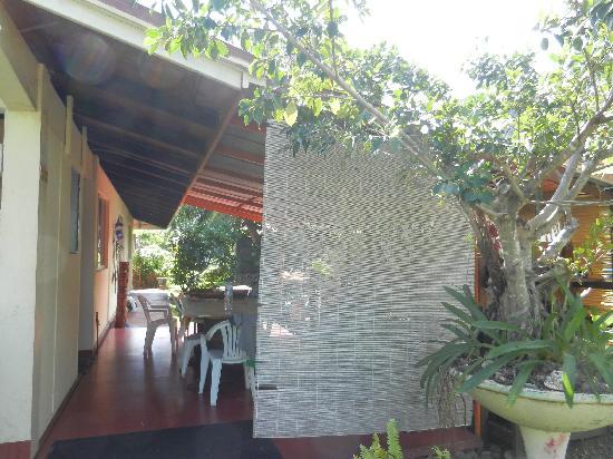 Pension Te Miti: le lieu du diner