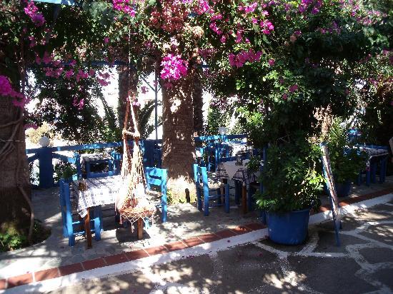 Palm Bay Hotel : vue restaurant