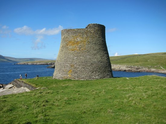 Shetland Islands, UK: The only complete iron age broch in the world