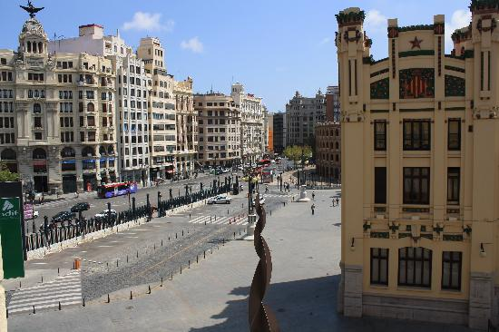 Hotel Zenit Valencia: View from our room
