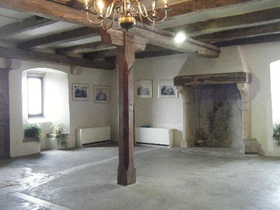 Bourscheid Castle : Inside a museum of the castle.