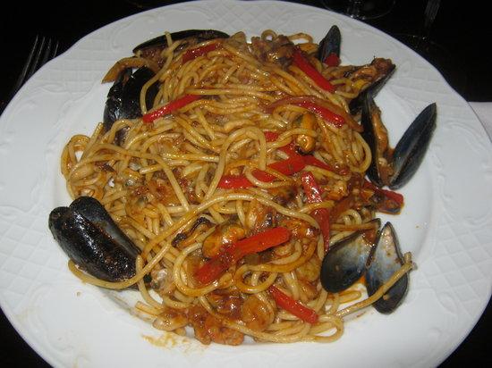 Le Chambord NEW DIRECTION 2015: spaghetti ai frutti di mare
