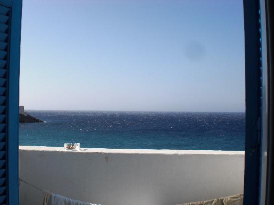 Anemoessa Hotel-Apartments: Aussicht vom Balkon