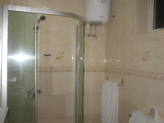 SG Premium Resort: Shower with no door