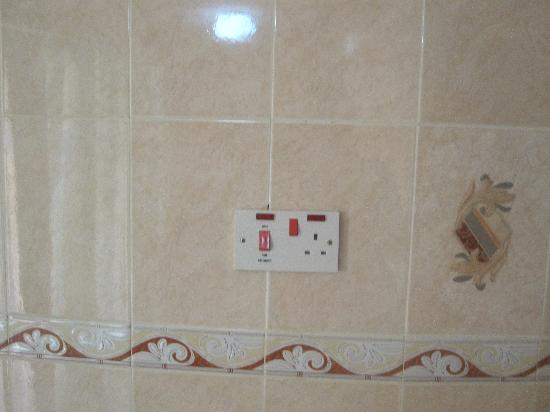 SG Resort Hotel: This socket was in the bathroom