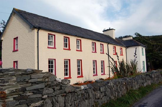 Cape Clear Island, Ierland: The hostel form the front