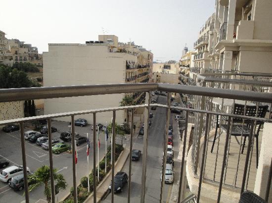 Le Meridien St. Julians: View from Balcony