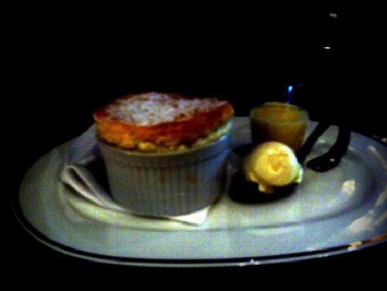 Seasons Restaurant : Lime & Coconut Souffle